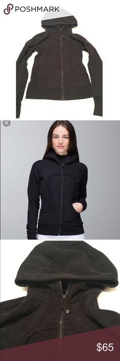 Lululemon Scuba Hoodie This is a size 6 black lululemon scuba hoodie lululemon athletica Jackets & Coats