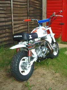 Honda Z50R Monkey Bike II by flatfourdesign