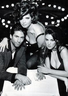 Isabella Rossellini & Monica Bellucci for Dolce & Gabbana. Spring/Summer 1992.