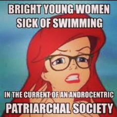 Hipster feminist Ariel