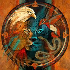 Direcciones, elementos, esencias, sabiduría indígena... Chaman