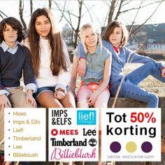 Nu bij Vente-Exclusive: korting Vente-Exclusive tot 50% op Mees, Imps & Elfs, Lief!, Timberland, Lee en Billieblush. Vente-Exclusie is een exclusieve... #mode #korting #shopping