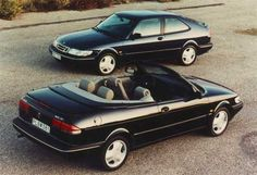 The 1995 Saab 900 SE 3-Door Coupe & Convertible