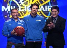 GILAS Pilipinas Champs LA TENORIO and LARRY FONACIER Plays One-on-One with Bossing VIC SOTTO Basketball Teams, Champs, Larry, Plays, Two By Two, Boss, Entertainment, This Or That Questions, Games