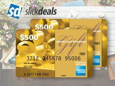 Ends 7/25 - Win a $500 Amex Gift Card from Slickdeals!