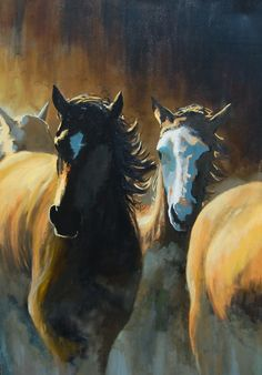 The buffalo paintings we offer will better the interiors of your home. You will surely love these paintings. The paintings are available at a very reasonable price.
