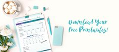 Get the FREE 2017 WEEKLY CONTENT PLANNER BINDER