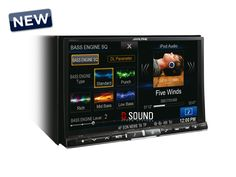 "New multimedia from ALPINE with 8"" screen monitor !!!"