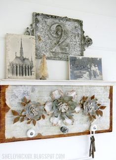 tim holtz jumbo tattered flowers | Stamptramp: Countdown to Creativity - Jumbo Tattered Florals