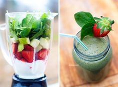 divianconner: Spinach & Fruit Smoothie