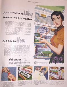 1953 Aluminum Foil Ad