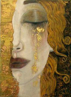 Gustav Klimt: Art Inspiration, Larme D Or, Anne Marie, Gustav Klimt, Gustav Klimt, Art Klimt, Art And Illustration, Illustrations, Inspiration Art, Art Inspo, Art Nouveau, Art Amour, Art Plastique