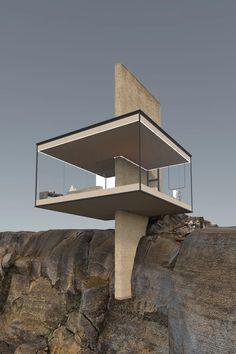 Unique Architecture, Futuristic Architecture, Interior Architecture, Glass Cabin, Design Exterior, Amazing Buildings, Modern Buildings, Modern House Design, Future House