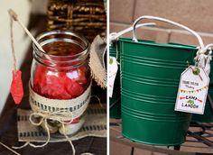 fishing bucket with swedish fish