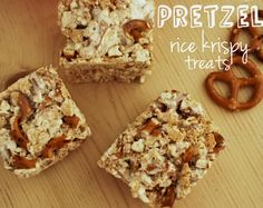 Pretzel Rice Krispy Treats
