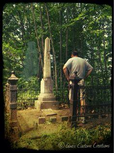 Irish Hollow Cemetery, Rockland, MI