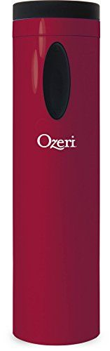 Ozeri OW08A-R Fascina Electric Wine Bottle Opener and Corkscrew, Red Engine -- Click image for more details. (Amazon affiliate link)