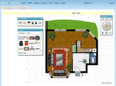 Room Layout Planner On Pinterest Room Planner Space Saving Bedroom And Fur