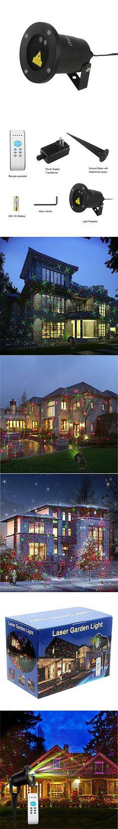 Christmas Laser Light,DRILLPRO Waterproof Red  Green Laser Light