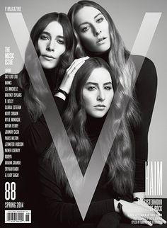 HAIM - V Magazine February 2014