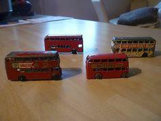 "Nice Job Lot Of Vintage Lesney Buses Including No.5 Buy""matchbox Series"" - http://www.matchbox-lesney.com/41865"