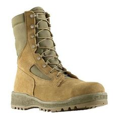 Men's Wellco Hot Weather Steel Toe Combat Boot Mojave