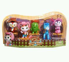 Disney Junior Sheriff Callie Figurine Cake Toppers Callie Toby PRE ORDER 02/15 #Disney