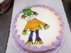 dq cakes Scarecrow / Halloween