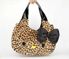 Wild Hello Kitty tote...