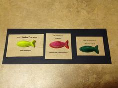 We O'fish'ally made it end of the year crayon cards