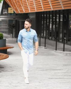 How to Wear White Jeans  Mens Style Guide