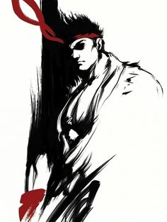Street Fighter hd wide wallpapers Wallpapers) – Wallpapers For Desktop Ryu Street Fighter 5, Street Fighter Wallpaper, Street Fighter Characters, World Of Warriors, Man Wallpaper, Video Game Characters, Anime Comics, Black And White, Artwork