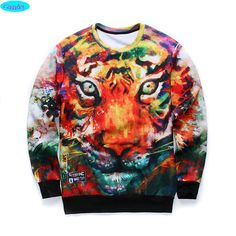 http://babyclothes.fashiongarments.biz/  12-18years big kids brand sweatshirt boys youth fashion 3D Multicolor tiger printed hoodies jogger sportwear teens unisex W21, http://babyclothes.fashiongarments.biz/products/12-18years-big-kids-brand-sweatshirt-bo