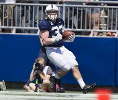 PENN STATE – FOOTBALL – BLUE/WHITE GAME, APRIL 12, 2014 – Penn State running back Cole Chiappialle scores during the annual Blue-White game, April 12, 2014, at Beaver Stadium. Joe Hermitt, PennLive