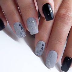 Winter Nails Designs - My Cool Nail Designs Latest Nail Designs, Cool Nail Designs, Nagellack Trends, Cat Nails, Super Nails, Nagel Gel, Nail Decorations, Beautiful Nail Art, Nail Trends