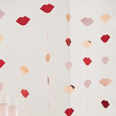 Backdrop Lippen Hey Good Looking Ginger Ray | Partydeco.nl