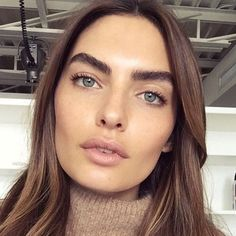 """Makeup artist @simoneotis used #rmsbeauty """"Un"""" Cover-Up in shades 22 and 33, Living Luminizer, and Buriti Bronzer to achieve this look."""