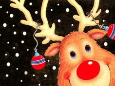 Im�genes o WallPaper de Rodolfo el Reno de la Nariz Roja � Rudolph the Red Nosed Reindeer
