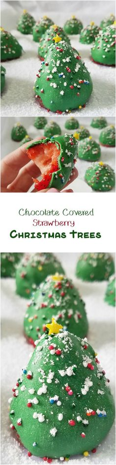 Chocolate Covered Strawberry Christmas Trees by Rumbly in my Tumbly