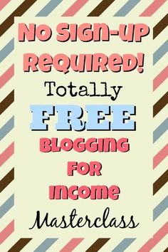 How to blog for income ste--by-step.  Complete guide to making money with you blog. NO Sign-up required!  http://thesavvyblogger.com/blogging-smart-and-sassy/