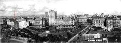 1924 - Parque do Anhangabaú e vista do Conjunto Arquitetônico - Desconhecido - SP450Anos