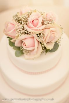 Rose and Gyp Cake Flowers