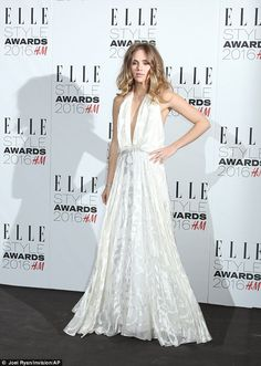 ELLE Style Awards 2016 Red Carpet: Suki Waterhouse in Camilla and Marc Spring 2016 - February 23, 2016