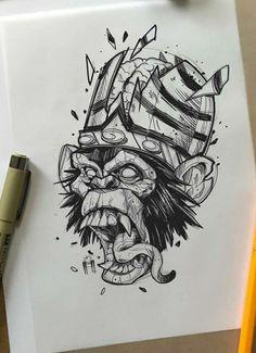 Japan Tattoo Design, Tattoo Design Drawings, Pencil Art Drawings, Tattoo Sketches, Drawing Sketches, Tattoo Designs, Line Work Tattoo, Black Work Tattoo, Tattoo Graphic