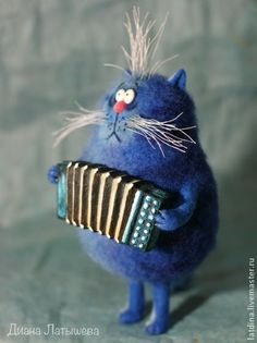 musical cat by Diana Latysheva