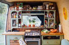 The Indie Projects - Vanlife Cats & Rolling Home Conversions — Vanlife Bus Living, Living On The Road, Tiny Living, Bus Life, Camper Life, Mini Van, Kombi Home, Caravan Renovation, Van Home