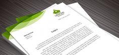 Business Letterheads: How to Create a Letterhead for Your Brand. #Blog #LogoDesign #Logos #BusinessLogos #StartUps #Entrepreneur