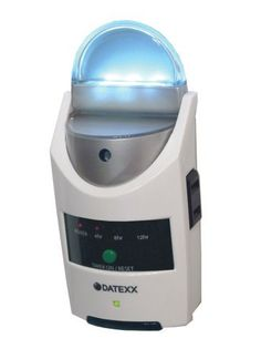 Datexx U-timer Safety Light by Datexx. $19.85. Perfect for holiday and Christmas Tree lighting, too. Light sensor automatically turns LED light on at dusk and off at dawn.. Auto shut-off can be set to 4, 8 or 12 hours. Bright LED indicator shows your time settings-easy to operate. Plug in a lamp to the U-Timer and illuminate the room while you are away. The U-Timer secures your home and saves energy - while away or asleep!. Save 43%!