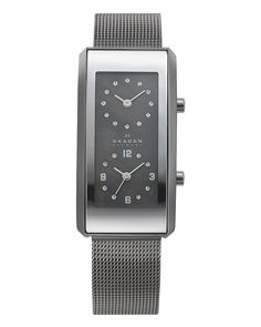 Skagen Denmark Women's Dual Time Zone Watch