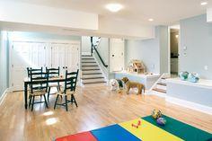 Wellesley Whole House Renovation - traditional - basement - boston - Byggmeister Inc